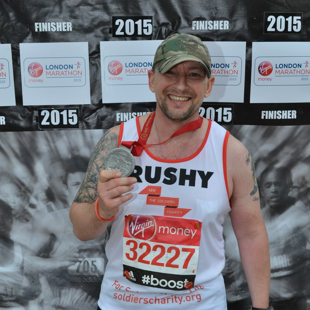 2015 - The Fan Dance WINTER - 4hrs 37minsVirgin Money London Marathon - 3hrs 41minsThe Fan Dance SUMMER - 4hrs 24minsRicochet TWM - 9hrs 29minsParas'10 Colchester - 1hr 45mins