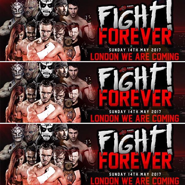 LONDON tickets are on sale NOW head over to luchaforever.com