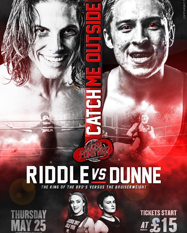 Birmingham we return May 25th featuring RIDDLE v DUNNE & KLR v WINDSOR  Tickets on sale now!