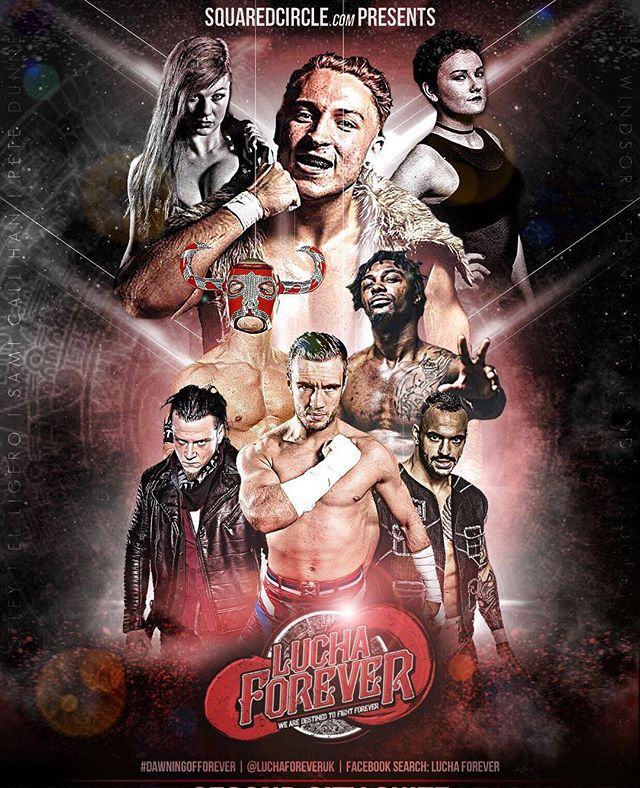 EXTRA TICKETS RELEASED - LAST CHANCE  We have an extra batch of tickets NOW ON SALE!  Once these go we are out out!  Head over to luchaforever.com to get yours now.  Please SHARE and TAG any friends still waiting to get theirs. This'll be their last chance.