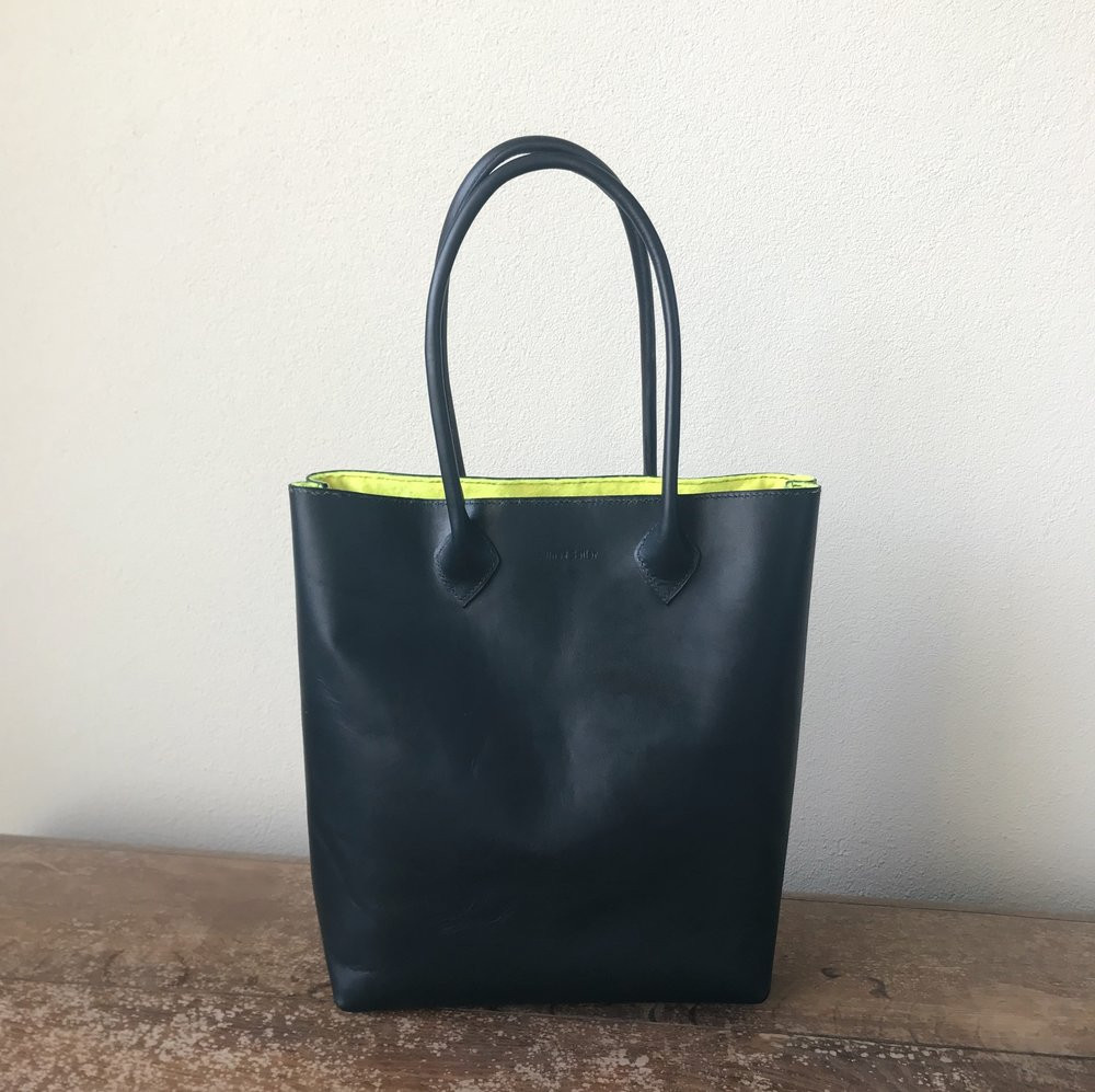 Custom Tote Bag with rolled handles