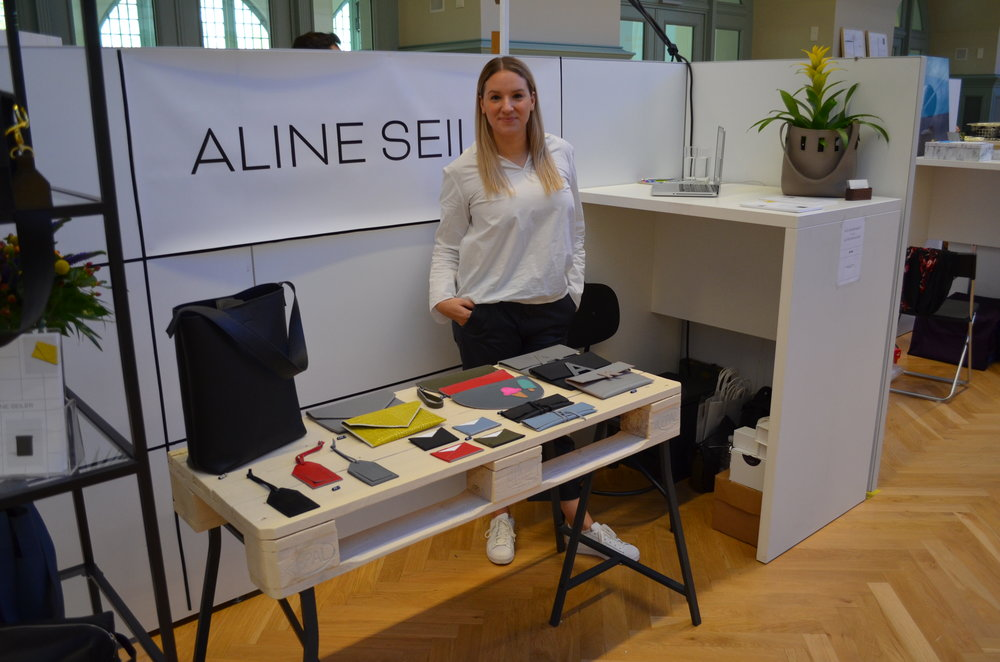 Aline Seiler Display at Designer's Open 2018 Leipzig