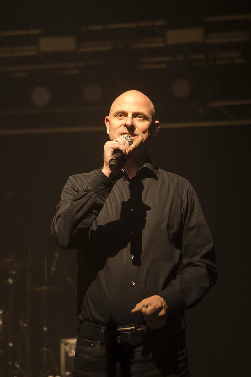 Moderation Festival - Francois Cochard ist Leiter und Moderator des Musik-Festivals Eine Nacht im Bergwerk