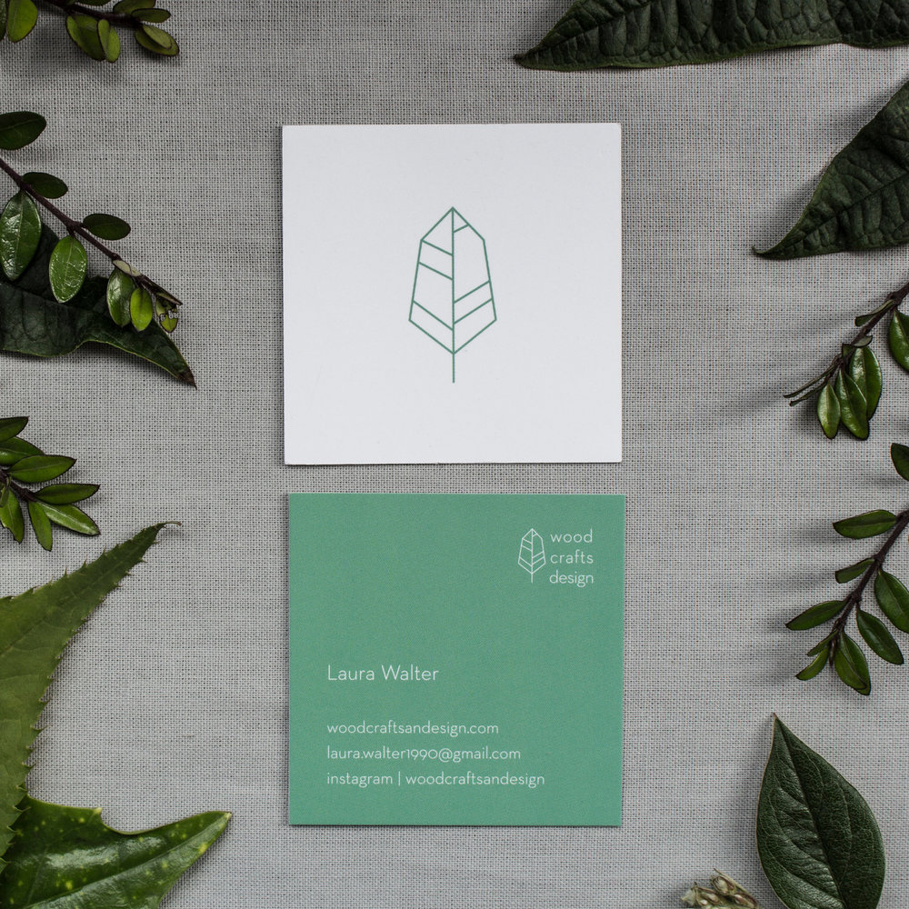 business card — Wood, Crafts and Design