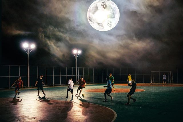 Lunar pitch. 3x @unsplash