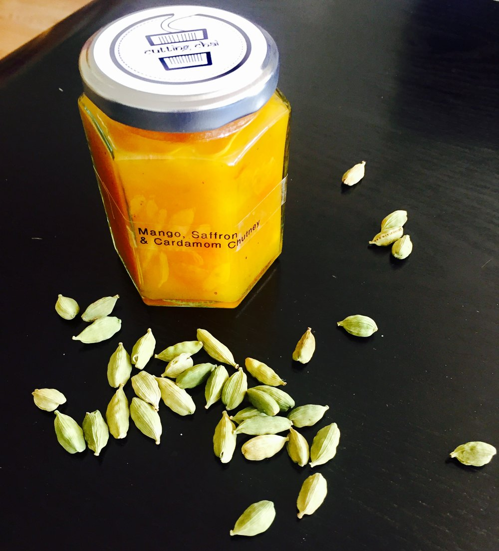 Mango, Saffron and Cardamom Chutney.jpg