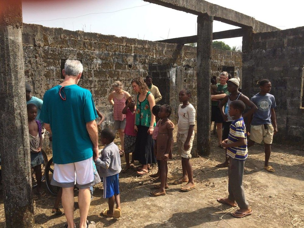Liberia visit by Church of the Open Door.