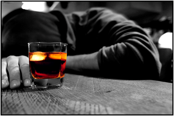 ONE-THIRD OF THE CREST-FALLEN PEOPLE ALSO HAVE ALCOHOL USE DISORDER.