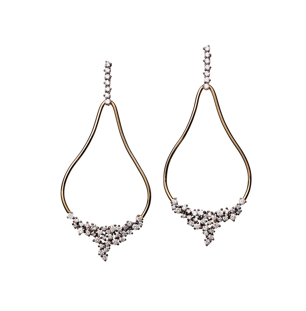 CONSTELLATION CHANDELIER EARRING