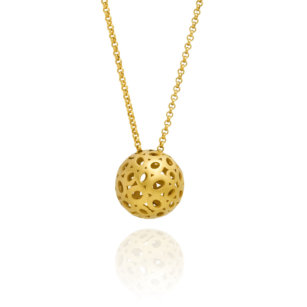 MEDIUM BALL NECKLACE MUSE