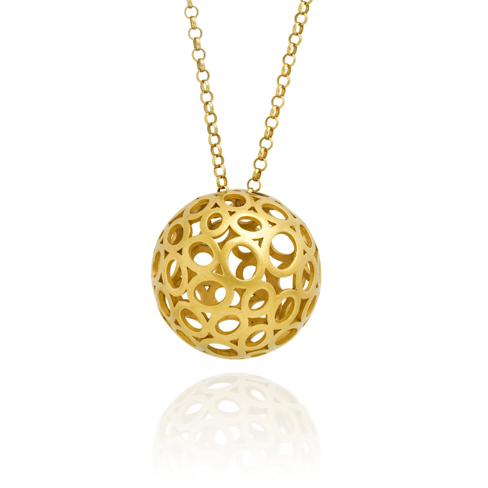 LARGE BALL NECKLACE MUSE