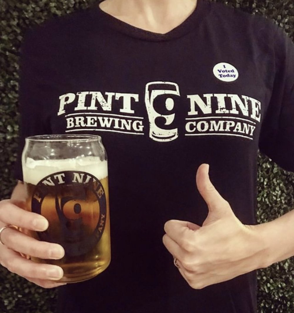 Wednesday - Wear it Wednesday! If you are spotted in the taproom wearing Pint Nine merchandise you'll receive $1.00 off pints all night!