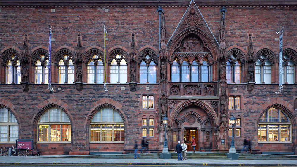 The Scottish national portrait gallery by Robert Rowand Anderson - inspiration for the use of red sandstone at Murrayfield.