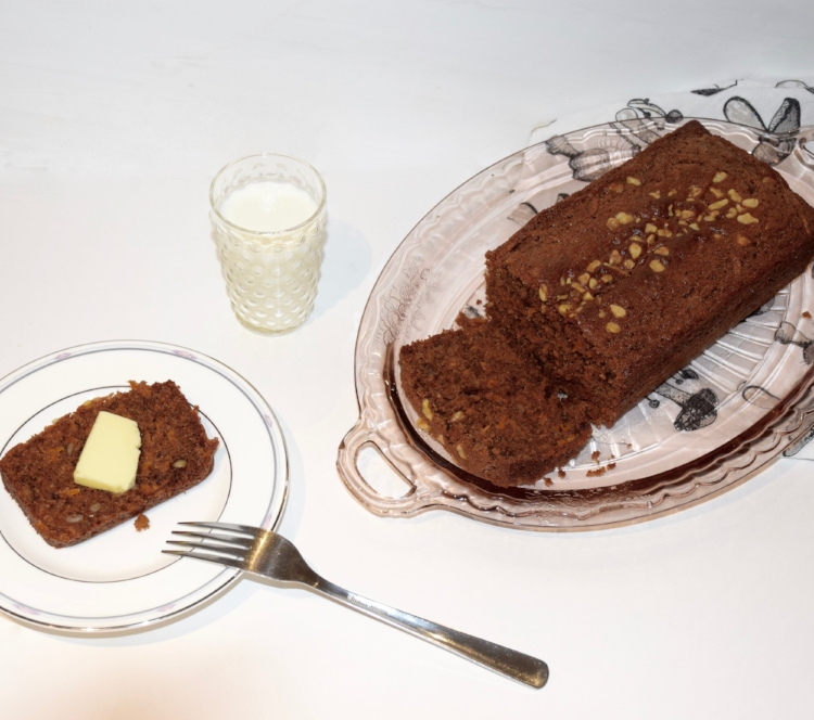 Spiced Carrot Cake Loaf 🍞