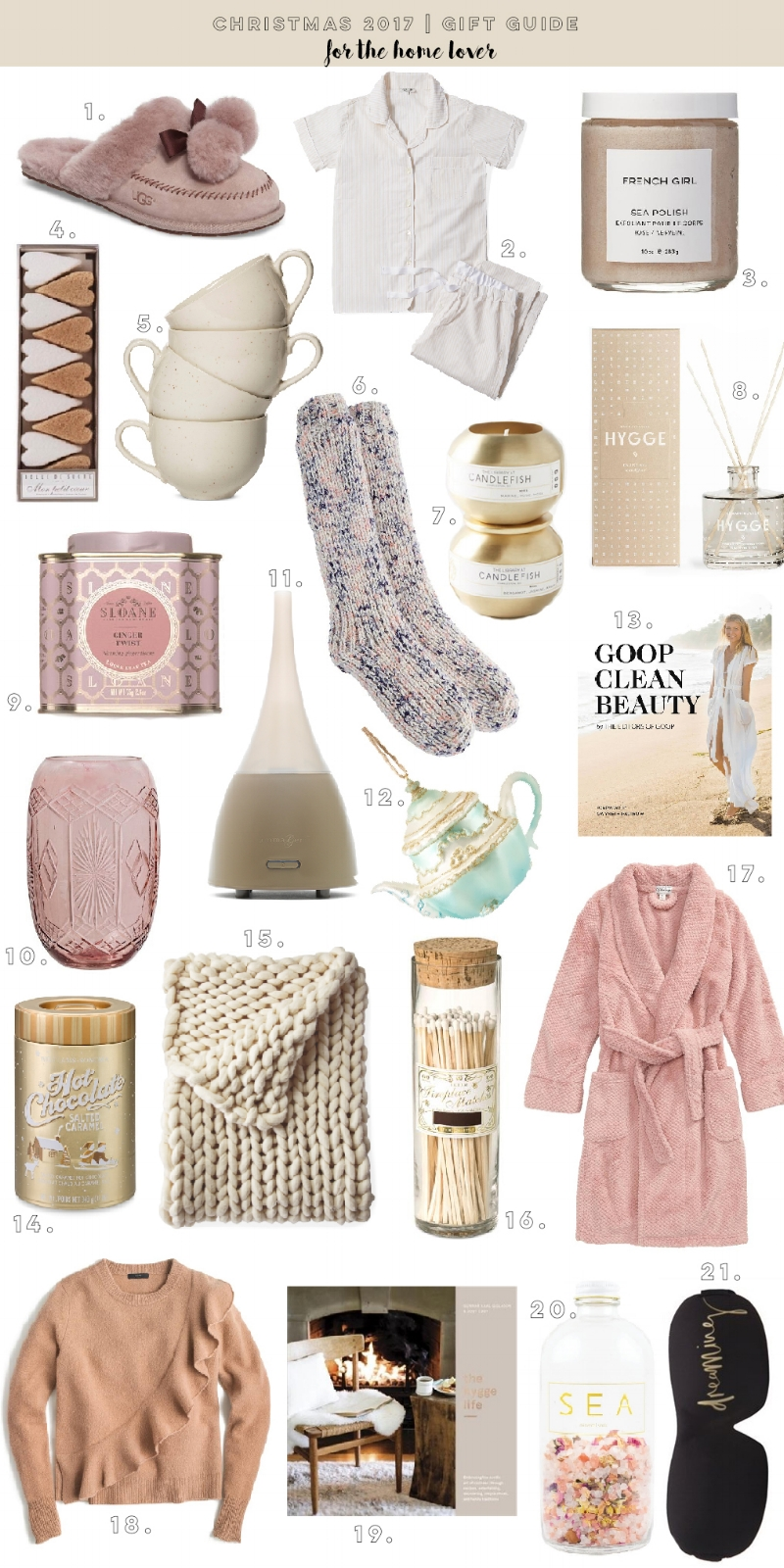 Christmas Gift Guide for the Home Lover via theblondielocks.com