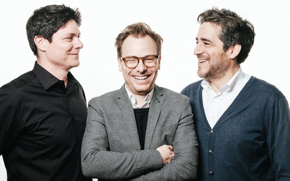 Founding Partners Quinlan Osborne, Martin Poitras and Philip Hazan