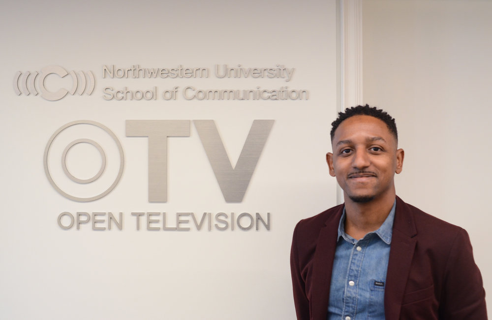 At the OTV Lab office downtown Chicago. Credit: Felton Kizer