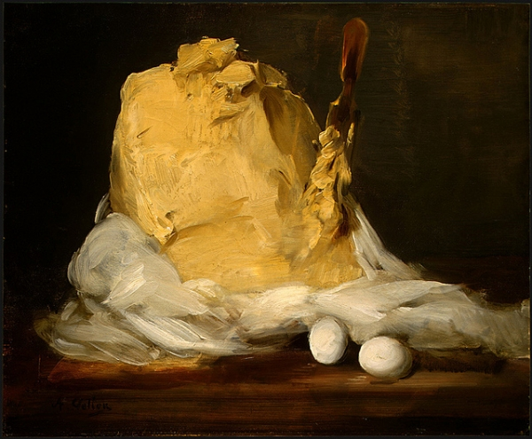 Mound of Butter by Antoine Vollon (c. 1875 - 1885)