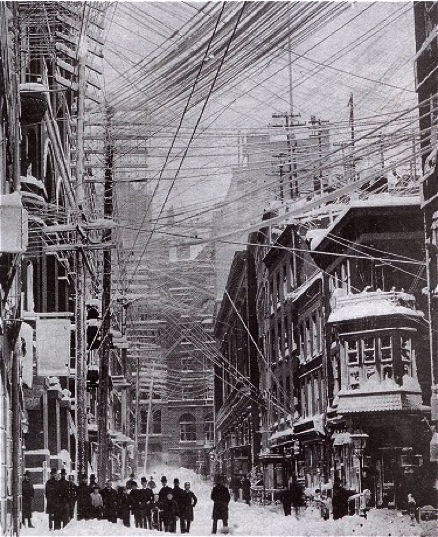 New York City's Blizzard of 1888/New York Public Library