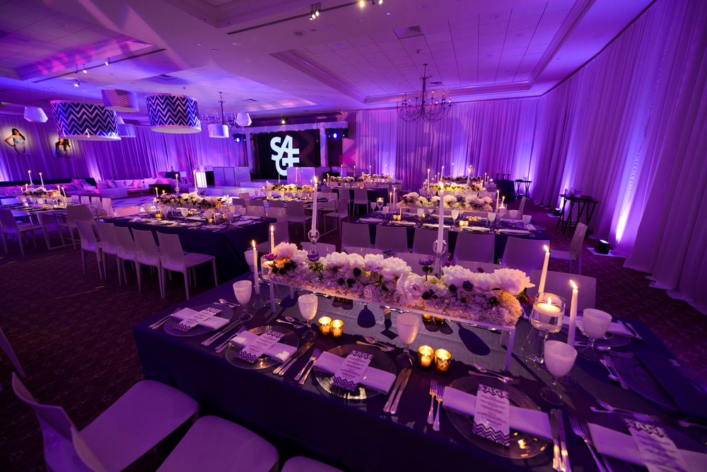 PURPLE CHEVRON - Venue: Brae Burn CC, Purchase, NYPhotography: Christian Grattan