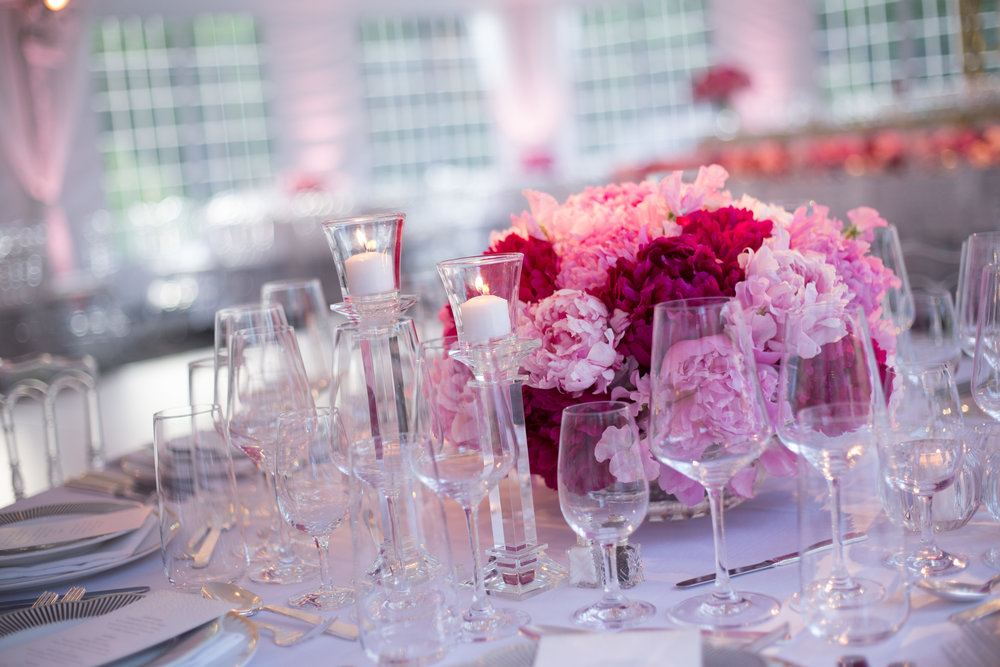 PRETTY IN PINK - Venue: Private Residence, Greenwich, CTPhotography: Pinsky Studio