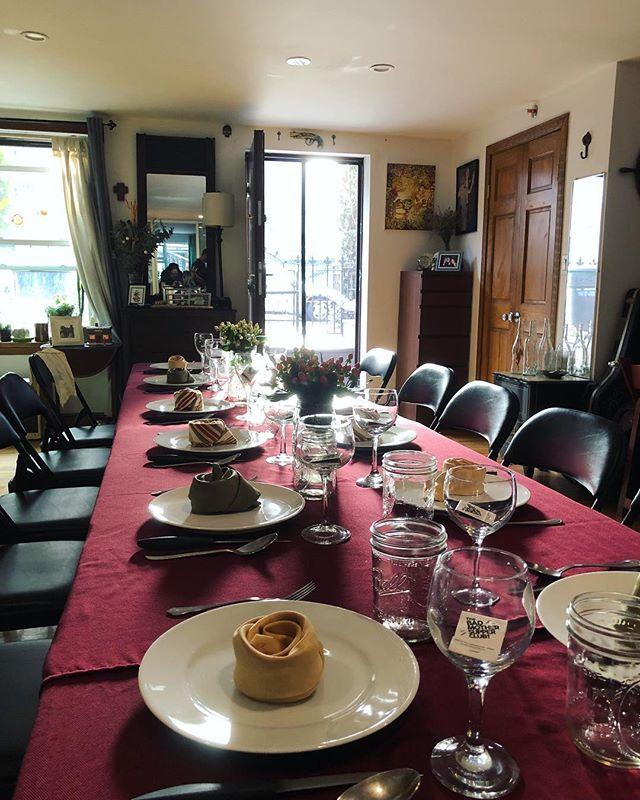 #badmothersupper #supperclub #undergrounddining #finedining #food #experiential #brooklyn #newyork #mugifuji #wagyu #pasta #gelato #funtimes #records #vinyl #cheflife #chefjohn #dining #dinnerparty