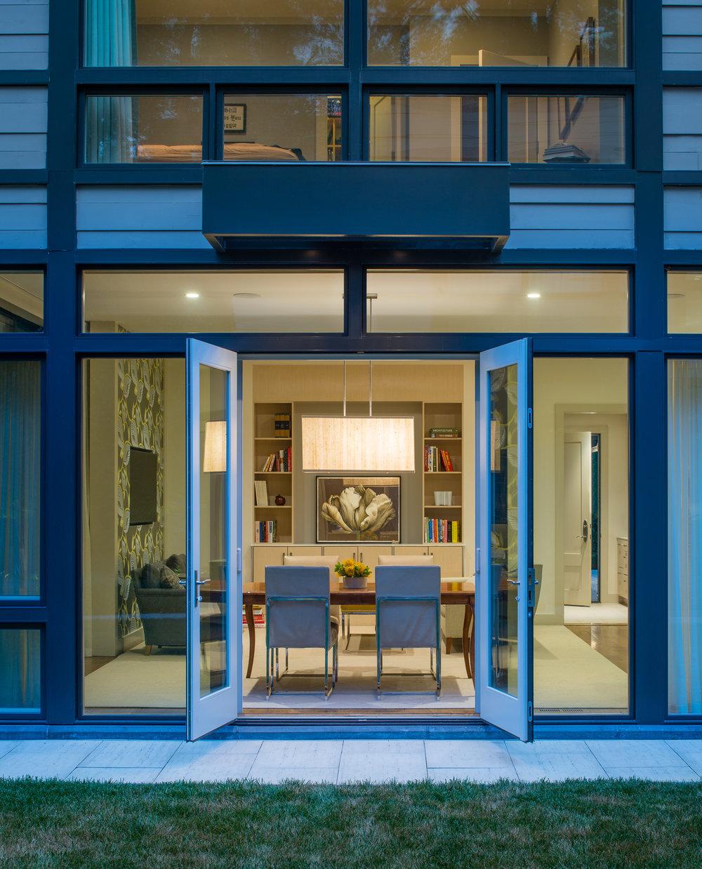 Double Vision  Donald Lococo Architects Alexandria, VA