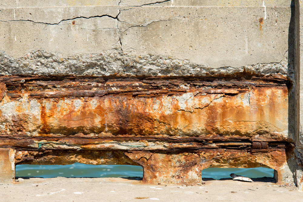 Municipal Pier Wall  - 2013 San Francisco, CA
