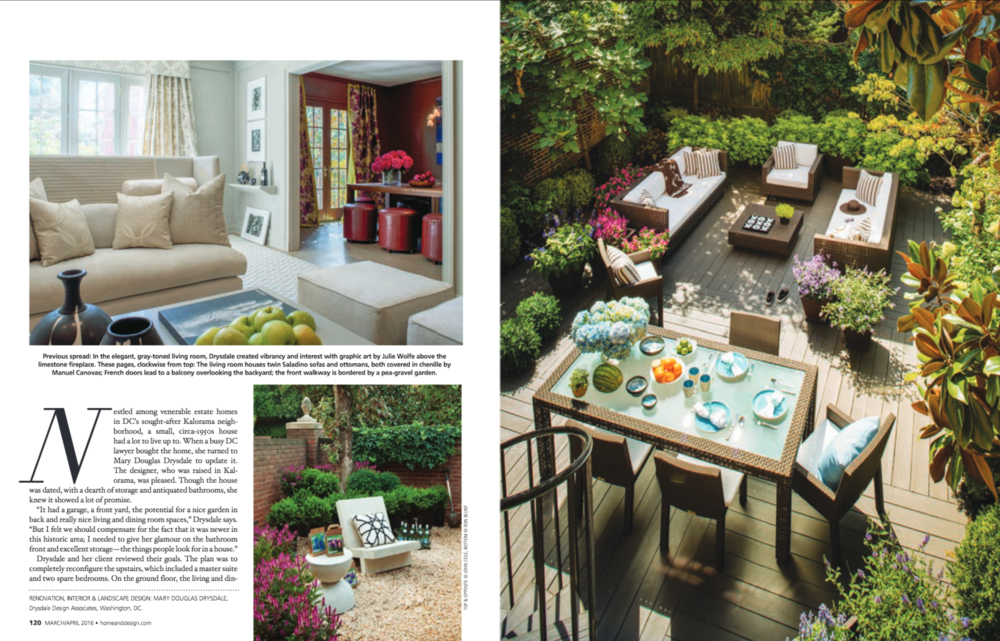 Home & Design Magazine  Spring 2016 Issue Drysdale Design Associates