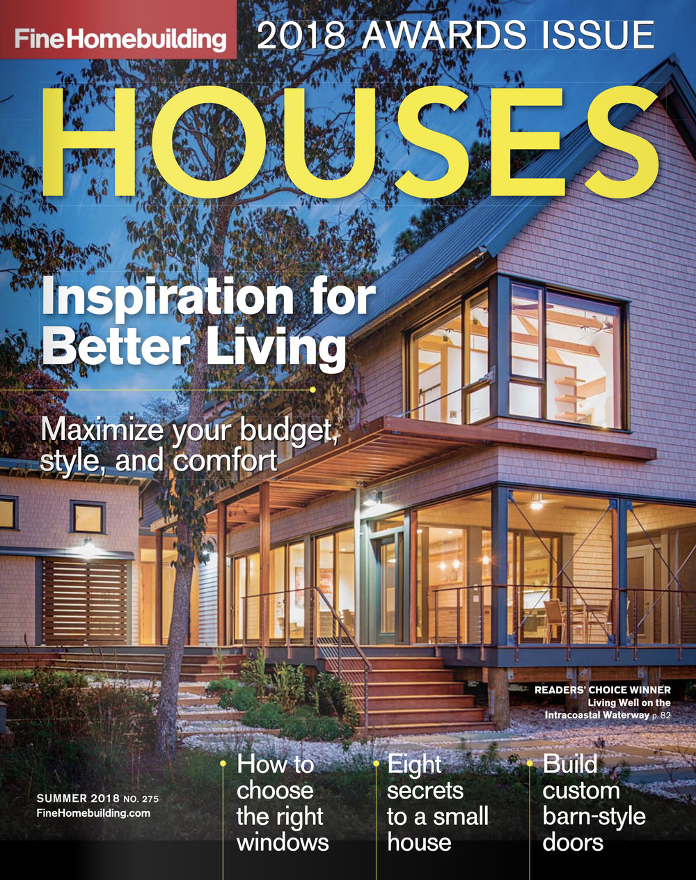 Fine Homebuilding Houses  2018 Awards Issue Summer 2018 Gardner Mohr Architects