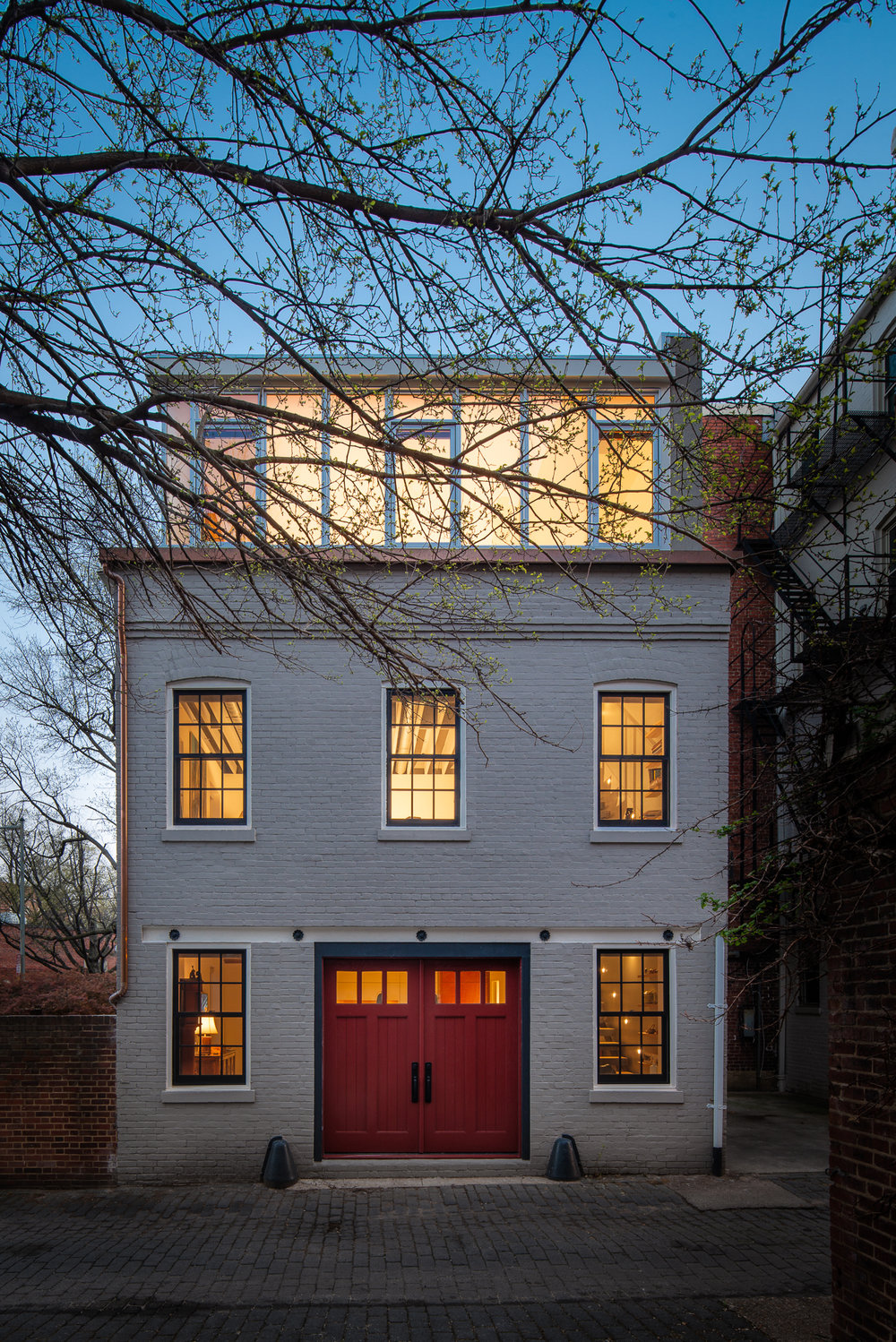 Carriage House  Gardner Architects Washington, DC