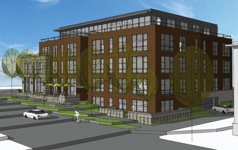 A 25 unit apartment project with 15 parking spaces in Uptown