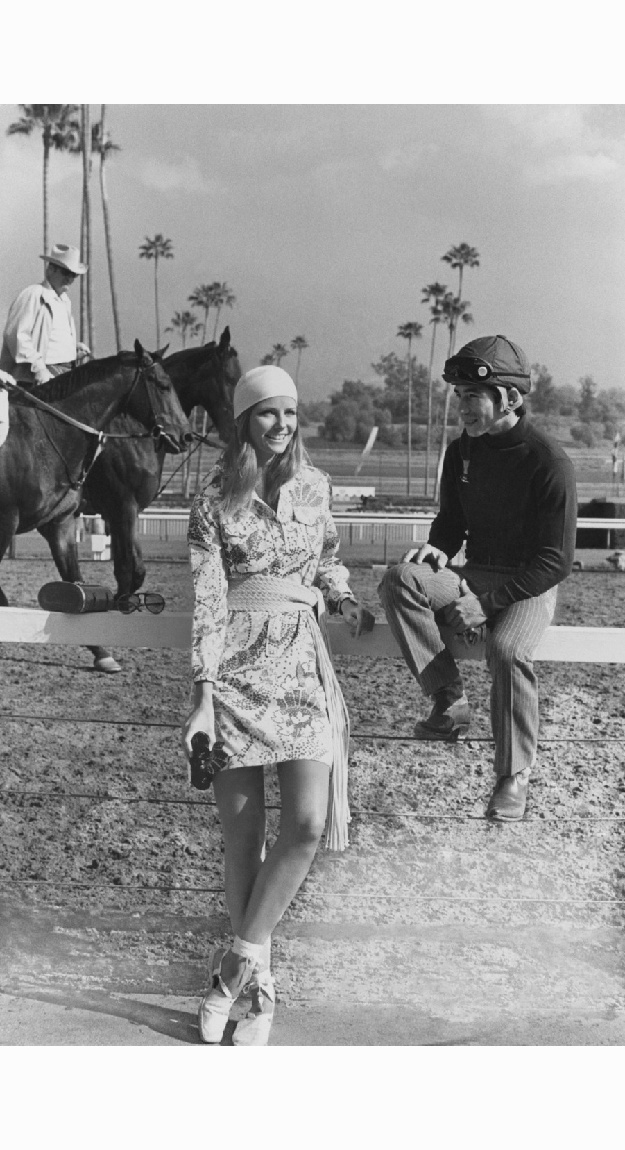 cheryl-tiegs-in-a-shirtdress-by-lilly-pulitzer-at-the-santa-anita-race-track-photographed-by-henry-clarke-may-1971.jpg