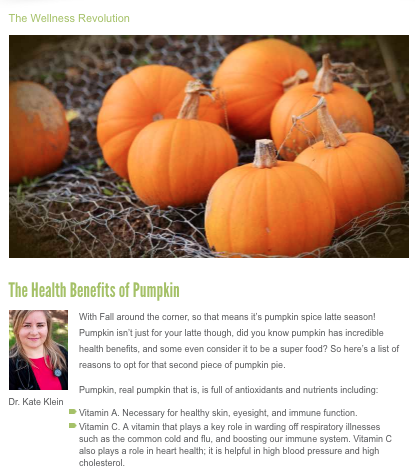 See Dr. Kate's latest blog for The Local Biz -