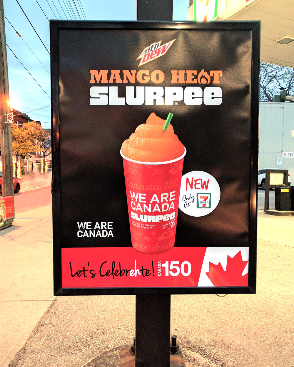 Slurpee cup featured in 7Eleven creative applications