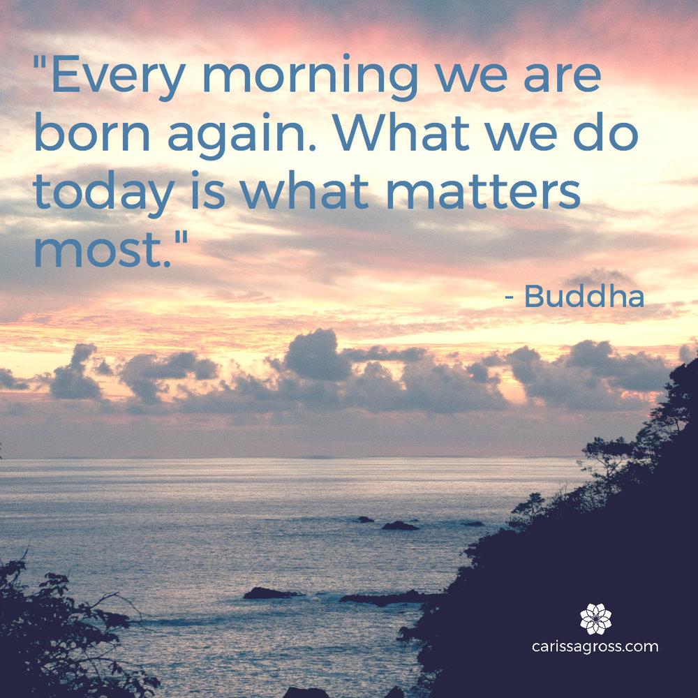 Inspiration From Buddha Carissa Gross