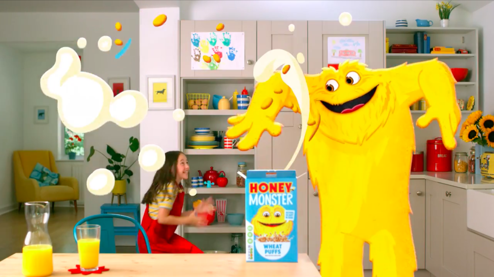 HONEY MONSTER - MONSTER YOUR BREAKFAST TVC