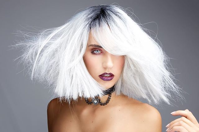 @_karen_cunninghamhair what a pleasure working with you!!! #Goldwellapprovedus #love #hair #hairlove #hairdresser #haircut #white #photography #color #portraits #andreaurbinati #model #newyork