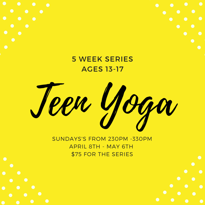 Teen Yoga Series