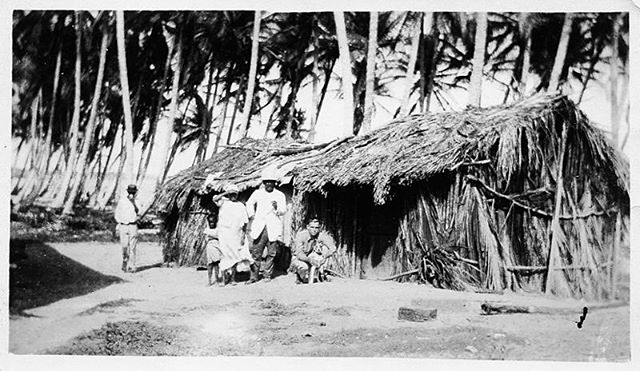 Traditional housing. 1922, Santo Domingo, Dominican Republic.  Source: https://en.m.wikipedia.org/wiki/File:USMC,_1922,_Santo_Domingo,_Dominican_Republic_20_of_26_(6227519514).jpg . #RepublicaDominicana #DominicanRepublic #1920s #Caribbean #Caribe #BlackAndWhite #Photography #VintagePhotography #Indigenous #Afroindigenous