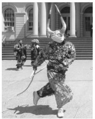 Dominican American Ysaes Amaro performs a traditional dance for the Latin Festival of the Day of the Dead. Source: https://www.everyculture.com/multi/Bu-Dr/Dominican-Americans.html . #DominicanRepublic #RepublicaDominicana #DominicanDiaspora #Vintage #DominicanAmericans #Afrodominicans #Afrodiaspora #Indigenous #Afroindigenous #DayoftheDead #DiaDeLosMuertos