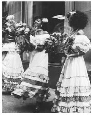 These Dominican-American women are performing in New York City's Hispanic Day Parade. Source: https://www.everyculture.com/multi/Bu-Dr/Dominican-Americans.html . #DominicanRepublic #RepublicaDominicana #DominicanDiaspora #NewYork #NewYorkCity #Vintage #DominicanAmericans #Afrodominicans #Afrodiaspora #Indigenous #Afroindigenous