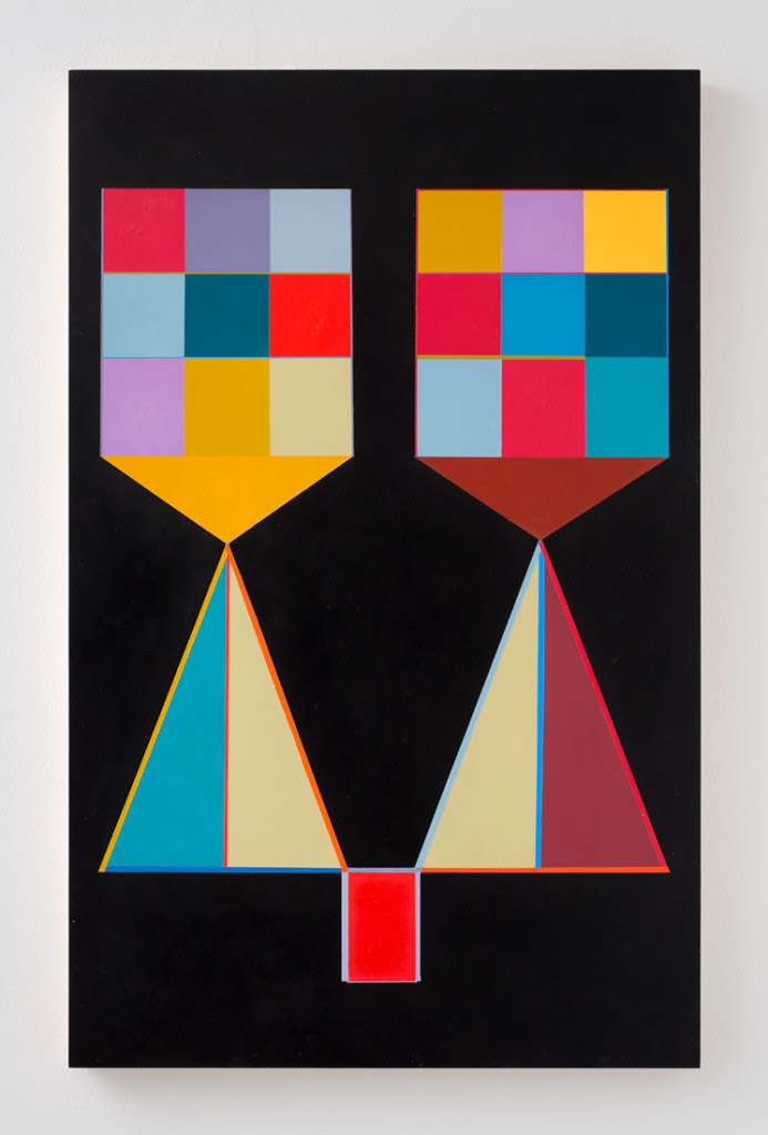 Marilyn Lerner.  Sisters , 2015, Oil on wood, 30 x 24 inches