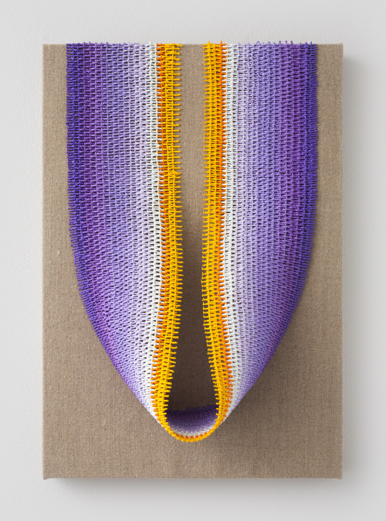 Crocus, 2014, Oil on linen on wood panel, 13 x 9 inches