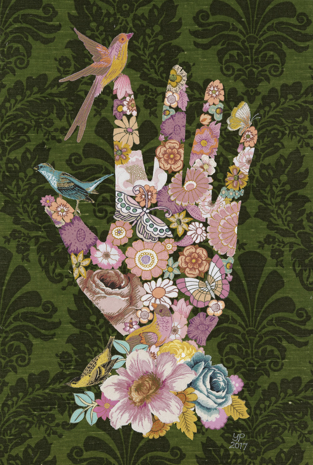 Floral Hand