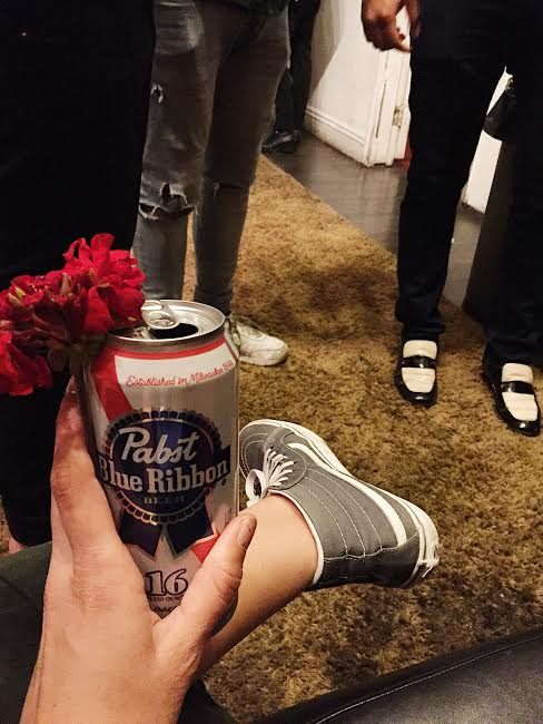 @paintedradish and a PBR