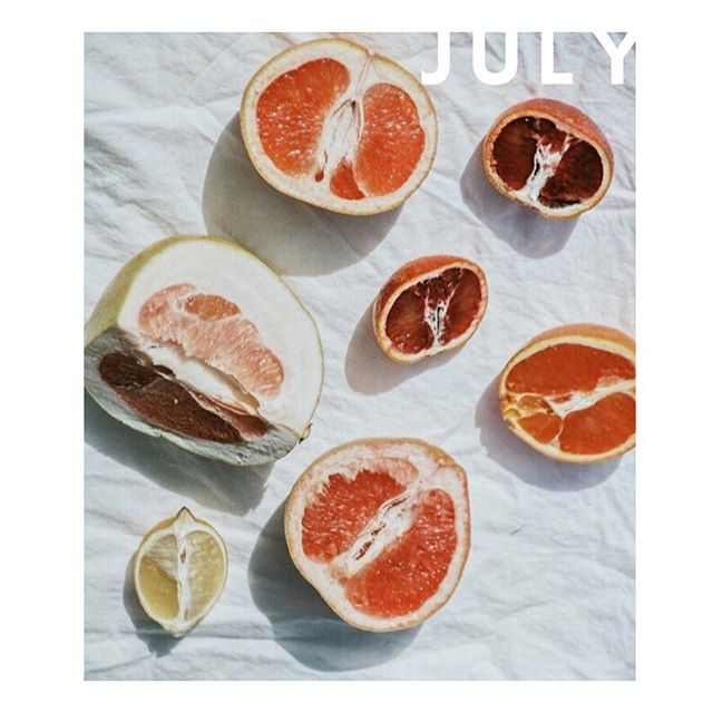 time to say goodbye to july! fresh and juicy #playlist. link in bio. 🍊