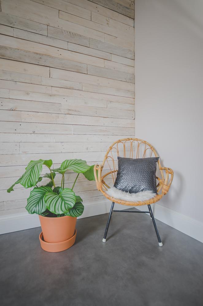 Interior - Pallet Wall