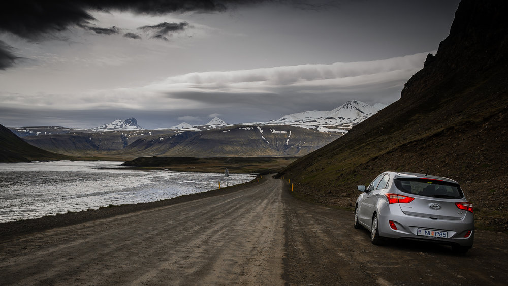 Driving on Snæfellsnes is a great experience, it can be tricky sometimes. But you get treated with breathtaking views!
