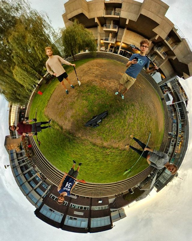 Saturdays are for the boys. #TinyPlanet